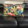 FLAMINGO LUMBAR   CUSHION 