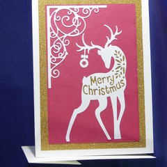 Merry Christmas Reindeer & Ball