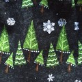 Girls Christmas Skirt - Chalkboard Christmas