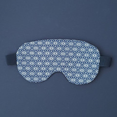 OUMU Japanese print cotton eye mask for sleep, gifts for her, mother's day gift,
