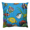 Vintage Retro Tropical Australian FISH Cushion Cover