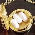 Eternal Sailor Moon Necklace, Usagi Necklace, Pill Box Container, Pill Case