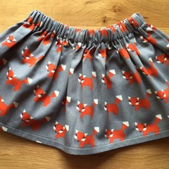 Girls Skirt - Mr Fox