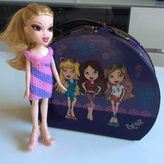 Bratz Doll and Painted Carry Case