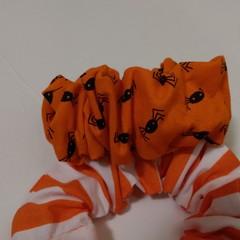 Hair Scrunchies Halloween pair