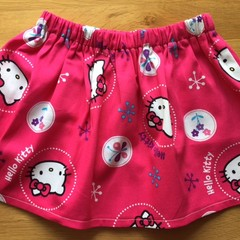 Girls Skirt - Hello Kitty Pink