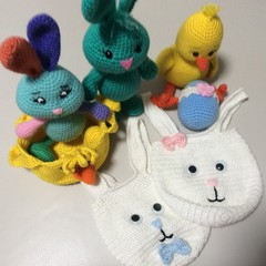 Easter Bundle - Chick, Bunnies, Bags, Egg