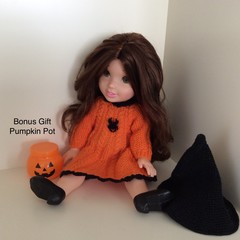 Doll - Disney - Halloween Outfit