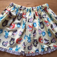 Girls Skirt - Animals