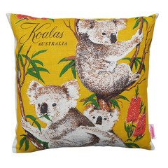Vintage Retro Australian KOALAS Cushion Cover