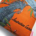 Vintage Retro Australian Cockatoo Birds Cushion Cover