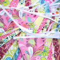PARTY Brights FLAG BUNTING Bunting. Garden Party . Girls Decoration