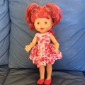 Strawberry Shortcake Doll with Pyjamas + 2 Outfits