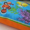 Vintage Retro Tropical Australian FISH Cushion Cover