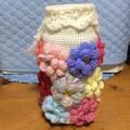 Crocheted Dahlia Holdall