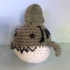 'Sharky Shark' Toy Ball