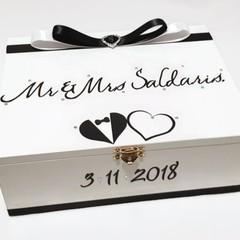 Order for Jessie Personalised Wedding Keepsake,  Bridal Memory, Wooden Box