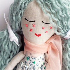 Hazel | Fabric Rag Doll