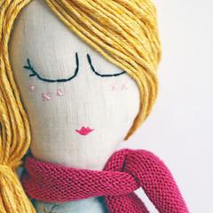 Lila | Fabric Rag Doll