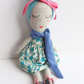 Frankie | Fabric Rag Doll