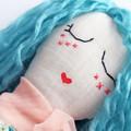 Mae | Fabric Rag Doll
