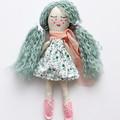 Hazel | Fabric Rag Doll