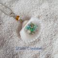 Mermaid's Treasure Clam Shell Necklace