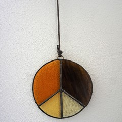'Setting Sun' Peace Suncatcher
