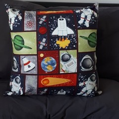 SPACE PATCHWORK PRINT