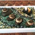 AMEOGEM'S ZENGEM Garden with Genuine Pilbara, Avernturine   and Serpentine Gems.
