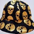 BABY GOLDEN SCULL HAT