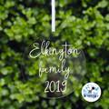 Family Xmas Bauble, Personalised Christmas  Decoration Name Keepsake 2019