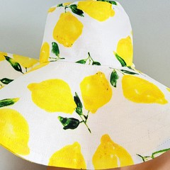 LEMON SUMMER HAT