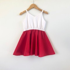 Twirly dress -  summer dress - And a little bit festive