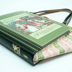 The Secret Garden & A Little Princes - handbag made from a book