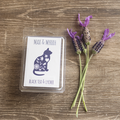 Black Tea & Lychee,  Soy Wax Melt - Hand poured, Maximum Fragrance
