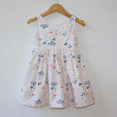 scooped back dress - girls dress - girls dresses - kids summer clothes - dresses