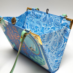 Hans Christian Andersen's Fairy Tales - handbag made from a book
