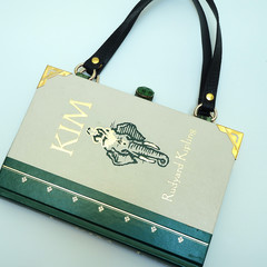 Kim - Rudyard Kipling - handbag made from a book