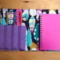 Fabulous feathers notepad set