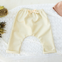 Cream Linen Harem Pants - Kids Loose Fitting Linen Pants - Toddler Baby Leggings