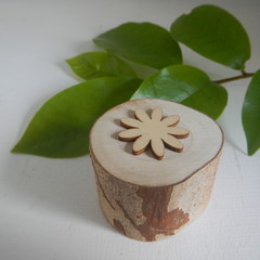 Toys of Wood Flower stamp