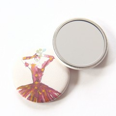 Pocket Mirror Irises + Junior Artist Design