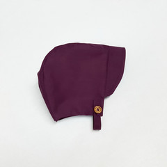 Mulberry Baby Bonnet with Chin Strap - Unisex Toddler Hat