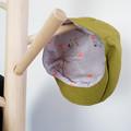 Green Linen Flat Cap - Toddler Boys Newsboy Hat - Newborn Photo Prop