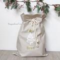 Santa Sack Christmas Tree - Natural
