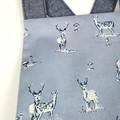 Blue Deer Baby Romper - Toddler Boys Woodland Playsuit
