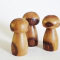 Toys of Wood Set of three mushrooms