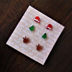 Christmas Studs