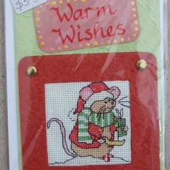Christmas Card - Xmas Mouse